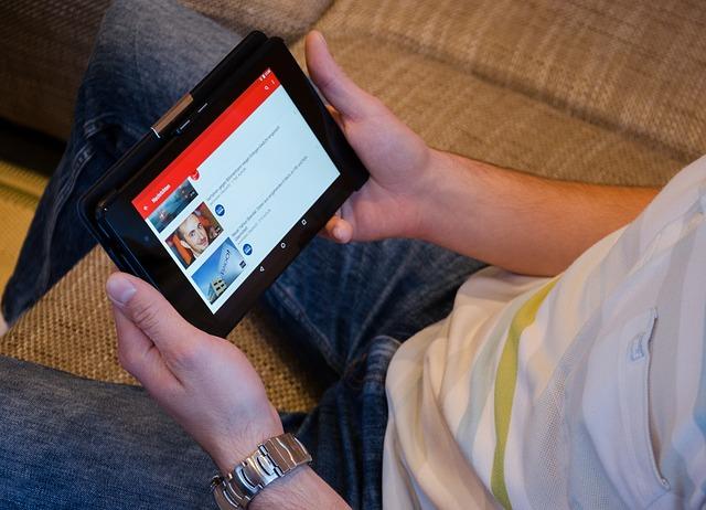 youtube na tabletu