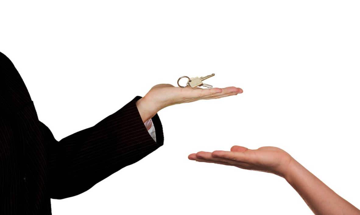 klíče od objektu