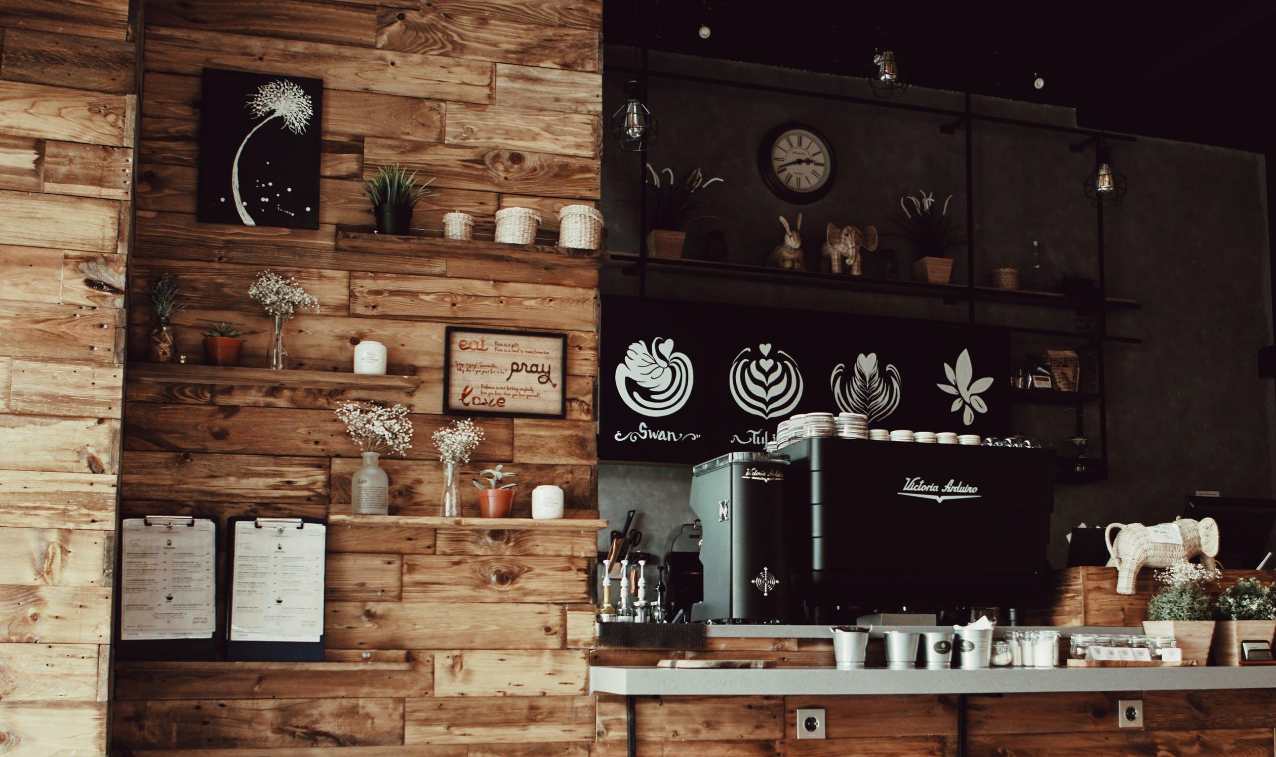 moderní kavárna