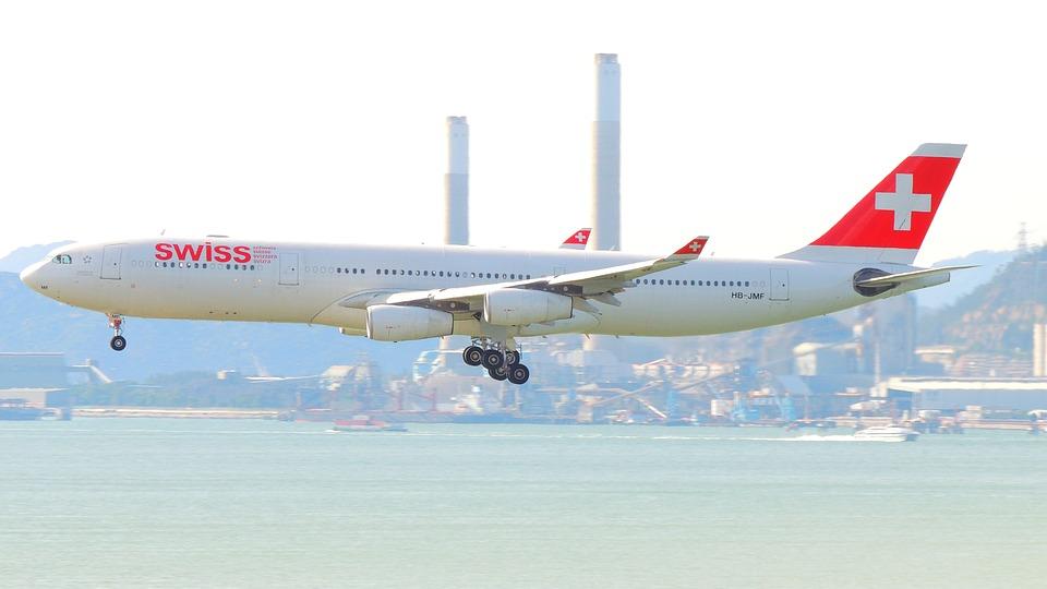 swiss letadlo
